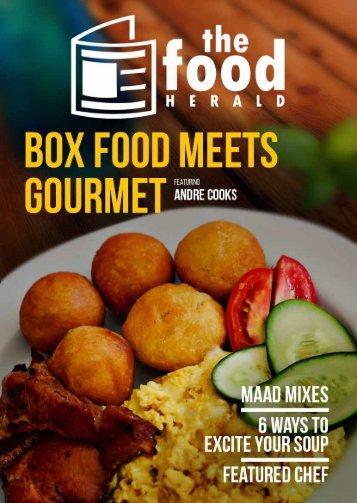 The Food Herald Magazine - January 2017