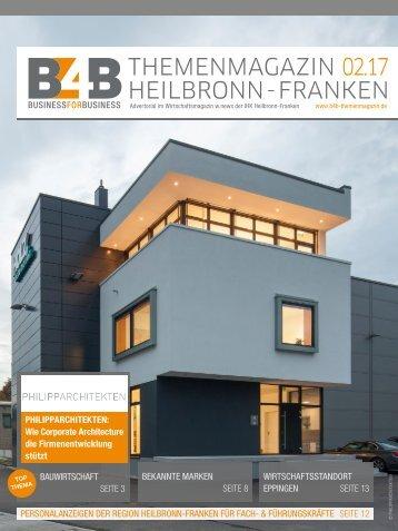 BAUWIRTSCHAFT   B4B Themenmagazin 02.2017