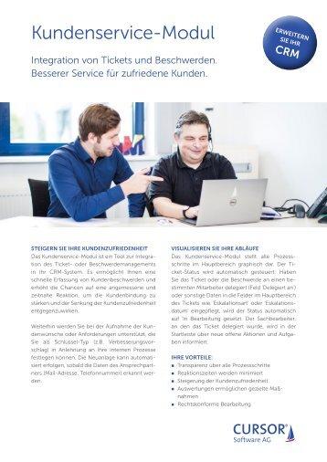 CURSOR-Kundenservice-Modul