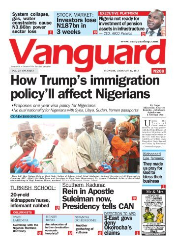 30012017 - How Trump's immigration policy'll affect Nigerians