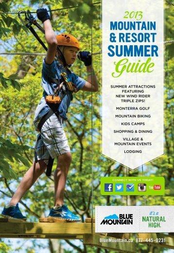 2013 Summer Guide