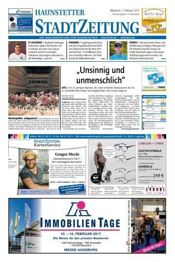 114 Augsburg - Haunstetten 01.02.2017