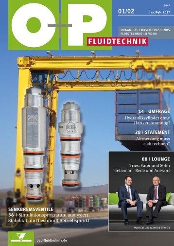 O+P Fluidtechnik 1-2/2017