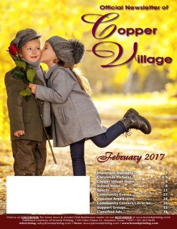 Copper Village February 2017
