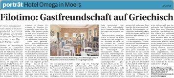 Hotel Omega in Moers