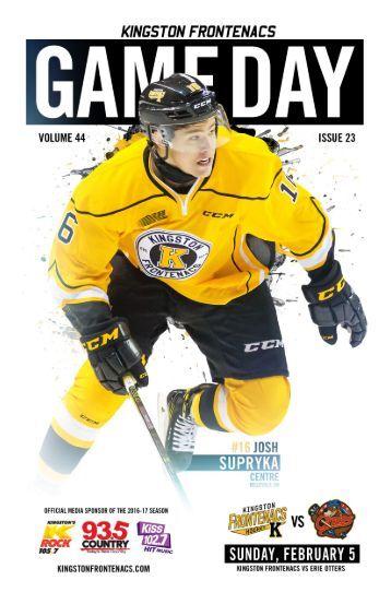 Kingston Frontenacs GameDay February 3, 2017