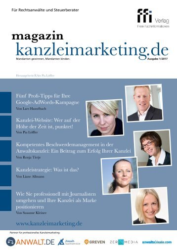 eMagazin kanzleimarketing.de