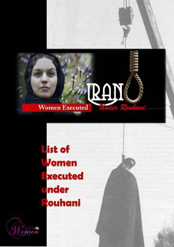 List of Women Executed under Rouhani