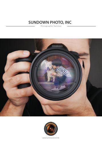 Sundown Photo Brochure