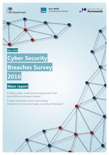 Breaches Survey 2016