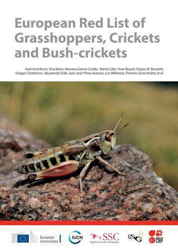 European Red List of Grasshoppers Crickets and Bush-crickets