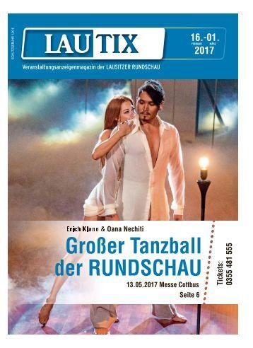 Lautix Veranstaltungsanzeigenmagazin - 16. Februar - 01. März 2017