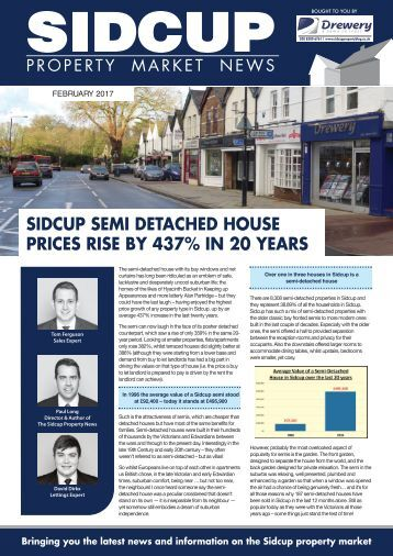 SIDCUP PROPERTY NEWS - FEBRUARY 2017