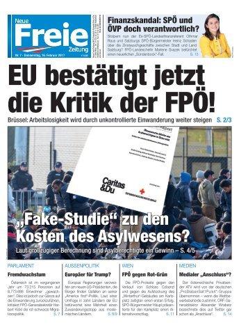 EU bestätigt jetzt die Kritik der FPÖ!