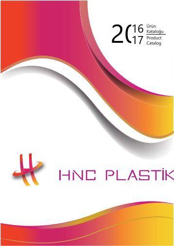 HNC PLASTİK 2016-2017 Catalog