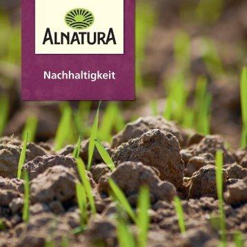 Nachhaltigkeit bei Alnatura