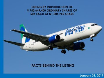 FACTS BEHIND THE LISTING