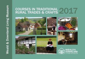 TRAD courses brochure 2017 Low-res