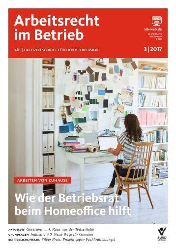 Leseprobe Arbeitsrecht im Betrieb 03_2017