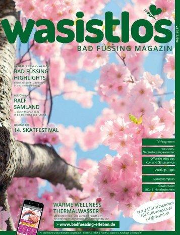 wasistlos badfüssing magazin März 2017