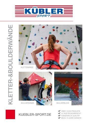 Kletterhandbuch Kübler Sport