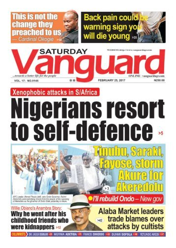 25022017 - Nigerians resort to self - defence
