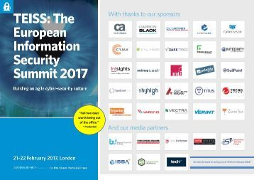 TEISS 2017 Post Event Report