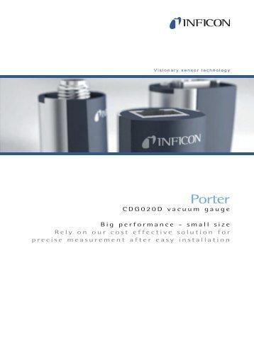 Vacuum Gauge - Porter CDG020D - INFICON