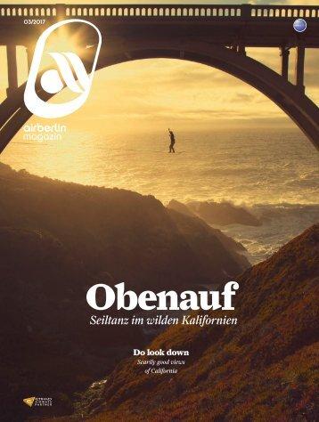 März 2017 airberlin Magazin - Obenauf