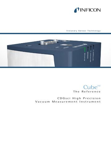 Vacuum Measurement - Cube CDGsci - INFICON