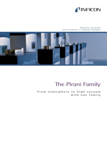 Vacuum Gauges - The Pirani Family - INFICON