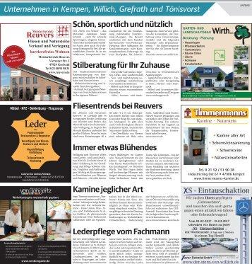 Unternehmen in Kempen, Willich, Grefrath und Tönisvorst