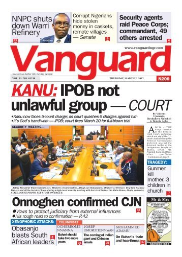 02032017 - KANU: IPOB not unlawful group — COURT