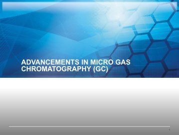 Mud Logging Hydrocarbon Analysis - Micro GC Fusion - INFICON