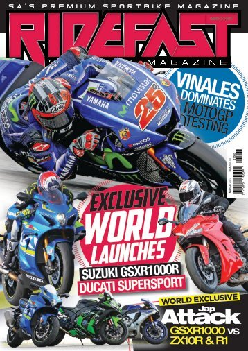 RideFast magazine March 2017 issue