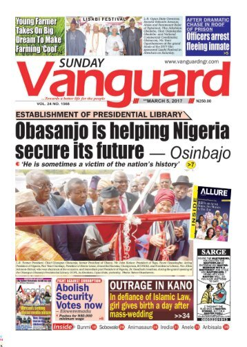 05032017 - Obasanjo is helping Nigeria secure its future