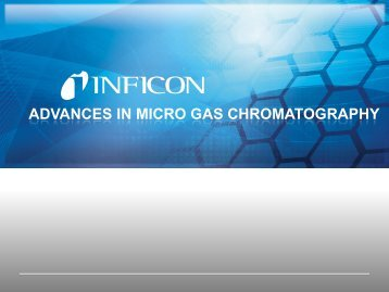 ACS National Meeting - Micro GC Fusion - INFICON