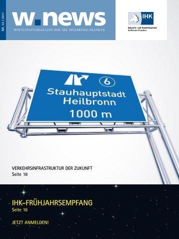 03.2017 | Wirtschaftsmagazin der IHK Heilbronn-Franken