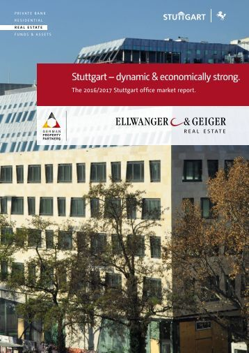 The 2016/2017 Stuttgart office market report