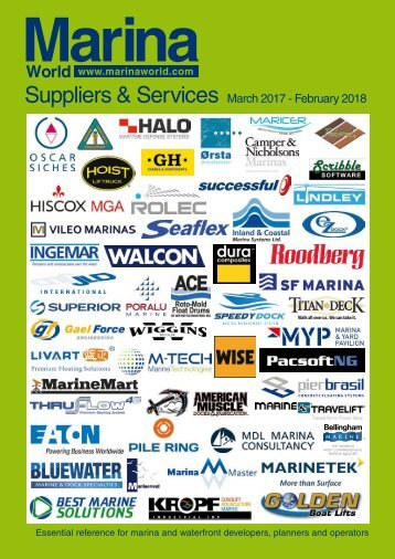2017/18 Suppliers & Services
