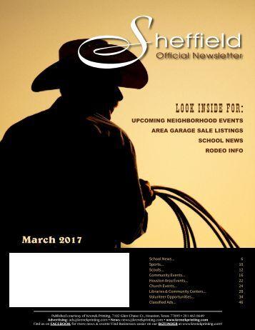 Sheffield March 2017