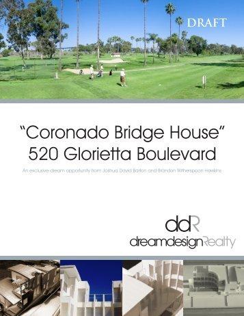 """""""Coronado Bridge House"""" 520 Glorietta Boulevard - D-Scheme Studio"""