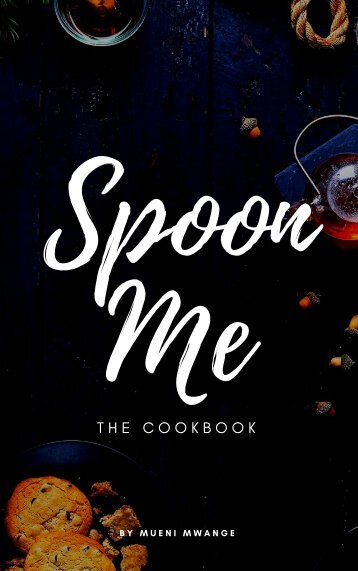 A vegan cookbook