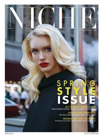 NICHE style Spring 2017