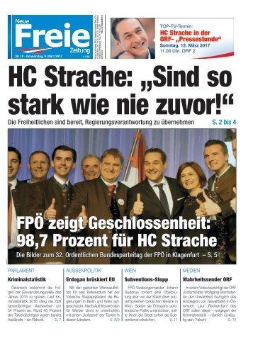 """HC Strache: """"Sind so stark wie nie zuvor!"""""""