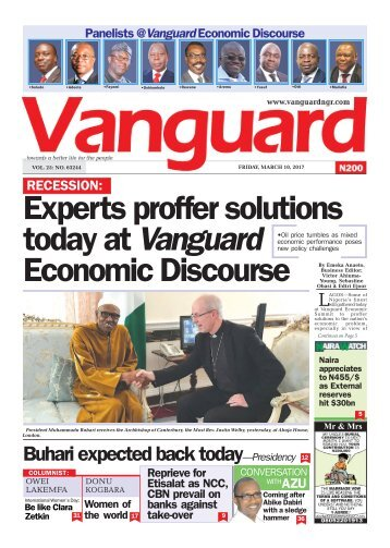 10032017 - Experts proffer solutions today at Vanguard Economic Discourse