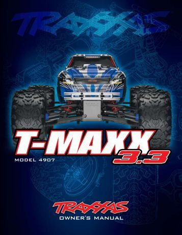 traxxas t maxx 2.5 manual