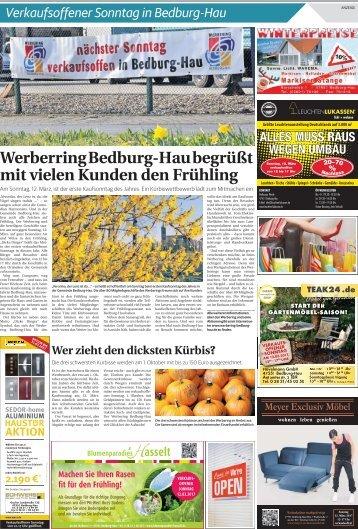 Verkaufsoffener Sonntag in Bedburg-Hau
