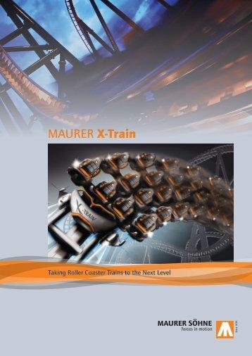 MAURER X-Train - Maurer Rides