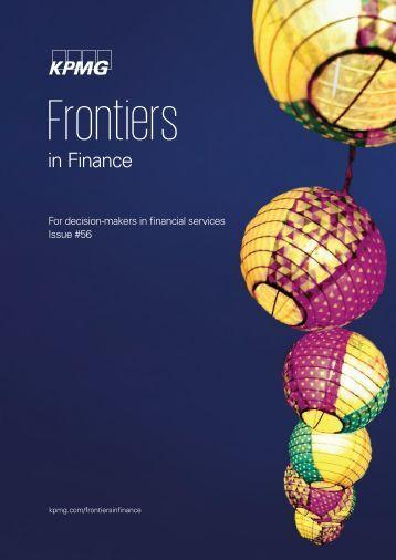 Frontiers in Finance